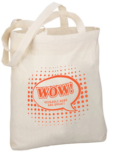 100% Cotton Promotional Shopper
