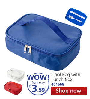 Cool Bag with Lunch Box 401568 WOW! from only £3.59 Shop now
