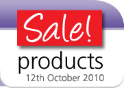 Sale products - 12th October 2010