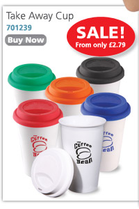 Take Away Cup - on Sale from only £2.79