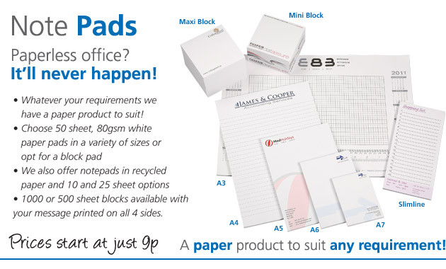 A paper product to suit any requirement!
