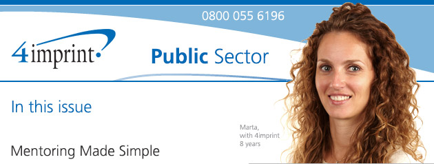 Public Sector News from 4imprint