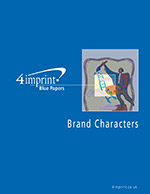 Brand Characters - Blue Paper