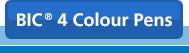 Shop all BIC® 4 Colour Pens