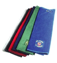 View a larger, more detailed picture of the Luxury Tri-Fold Velour Towel