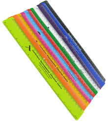 View a larger, more detailed picture of the Flexible Recycled Ruler - 30cm