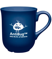 View a larger, more detailed picture of the Bell AntiBug Mug - Blue